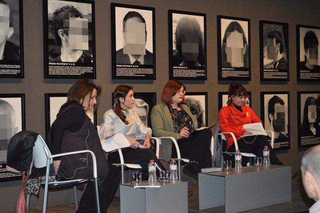 Anna Saéz, Txell Bonet, Cassandra Vera y Beatriz Talegón
