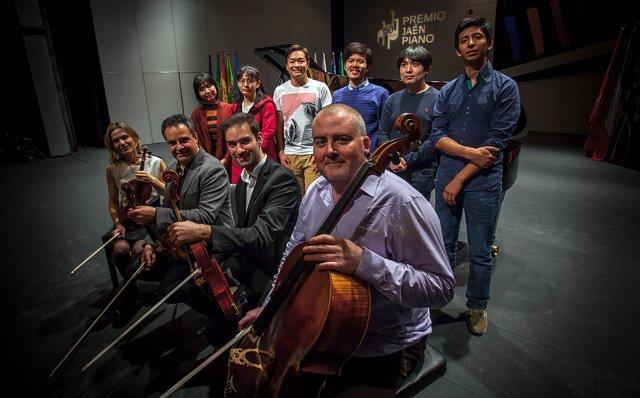 Semifinalistas del 60º Concurso Internacional de Piano Premio 'Jaén'