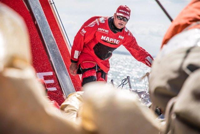 'Ñeti' Cuervas-Mons MAPFRE Volvo Ocean Race