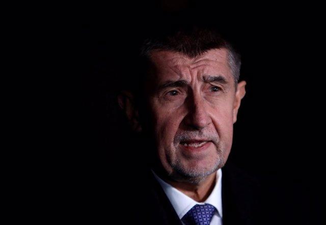 El primer ministro en funciones de República Checa, Andrej Babis.