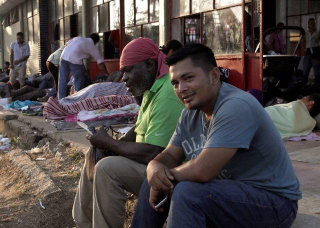 Inmigrantes hondureños en México