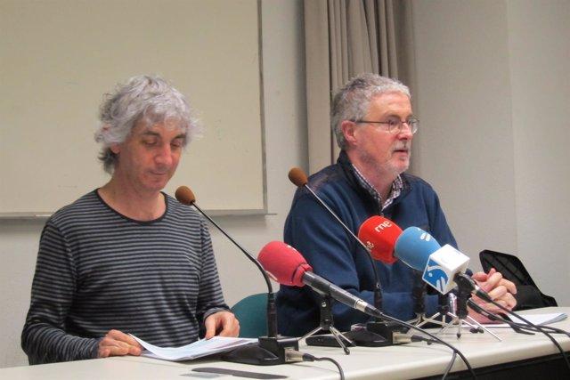 Foto de archivo dell secretario general de ELA, Adolfo 'Txiki',