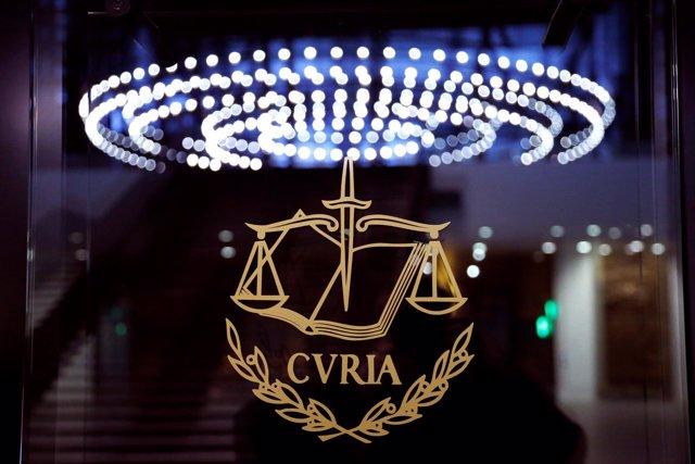 Logotipo del Tribunal de Justicia Europeo