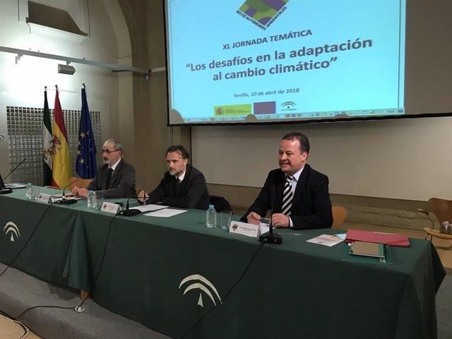 José Fiscal inaugura una jornada sobre el cambio climático