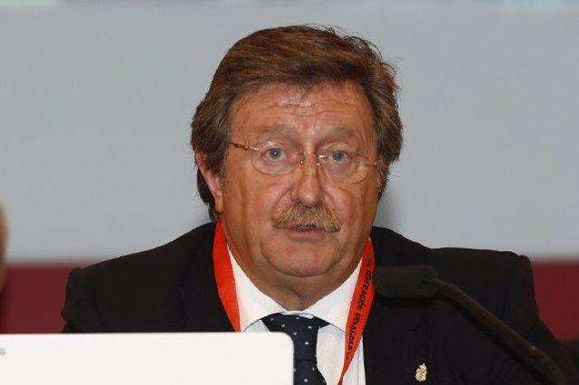 Juan Luis Larrea, ex presidente de la Junta Gestora de la RFEF