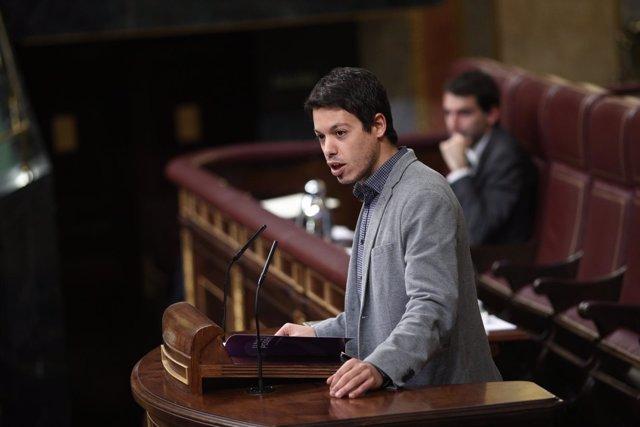 Segundo González en el Congreso