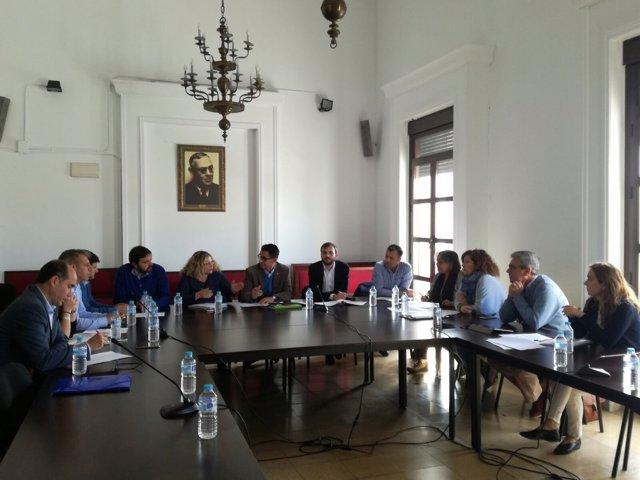 Reunión de Junta con Ayuntamientos de Barbate, Conil y Tarifa