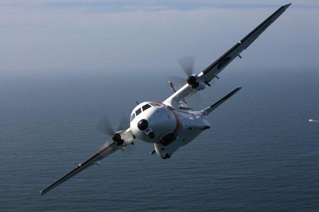 Avión Sasemar 103 de Salvamento Marítimo