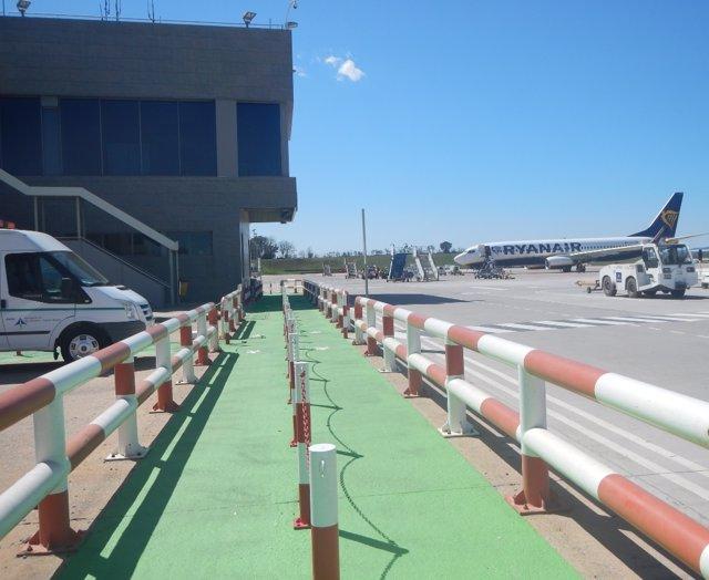 Señalización Aeropuerto de Girona