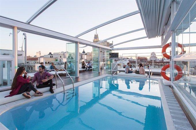 Cinco Terrazas De Hoteles En Madrid Que No Se Borrarán De La