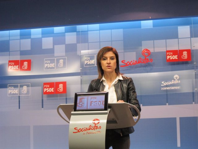 La parlamentaria del PSN, Nuria Medina