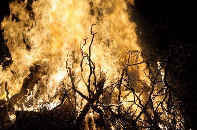 Incendio en Nicaragua
