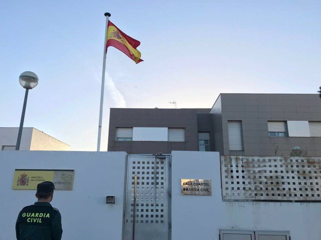 Cuartel de la Guardia Civil de Bollullos Par del Condado (Huelva).
