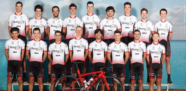 El equipo Burgos BH