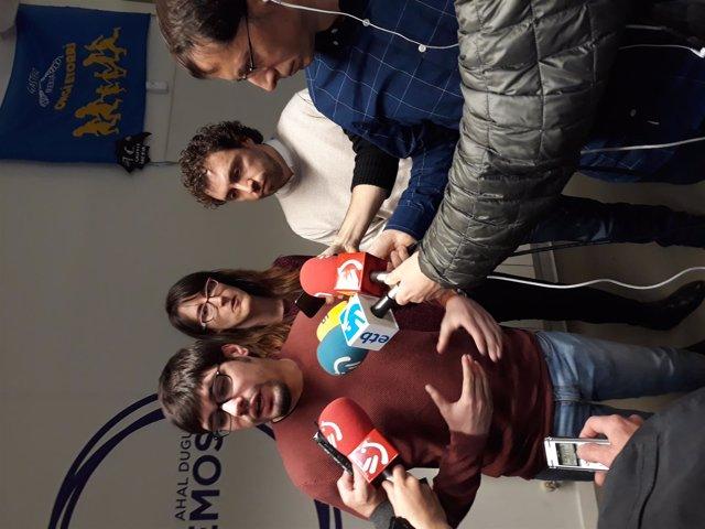Lander Martínez y Ramón Sánchez