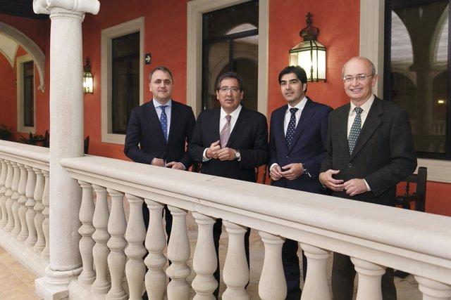 Renovación del acuerdo entre Fundaciónm Cajasol y Real Betis Energía Plus