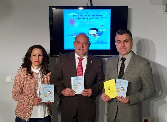 Juan Antonio Lorca, Durante La Presentación De La III Feria Regional Del Libro