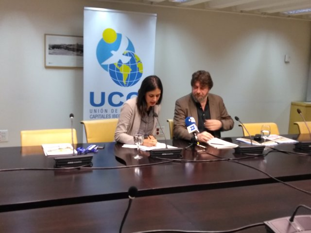 Rita Maestre y Pablo Martínez Osés presentan la Asamblea General de la UCCI