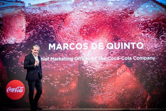 Marcos de Quinto, Coca-Cola