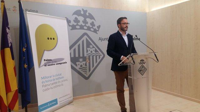 Regidor de Urbanismo, José Hila