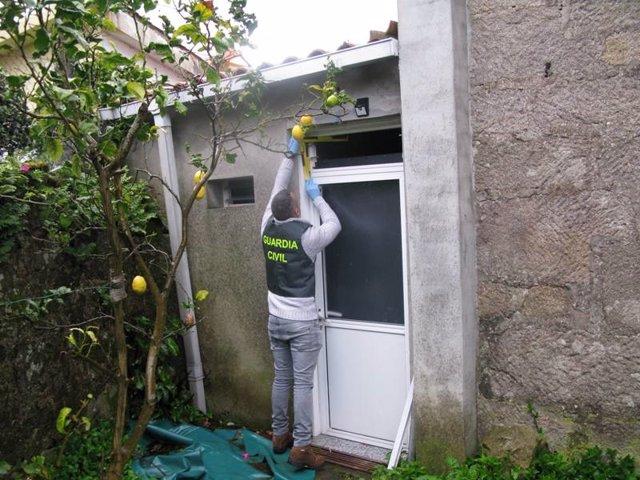 Detenido autor de robos en iglesia y casa rectoral de San Pedro de A Ramallosa