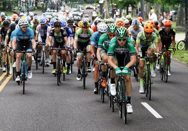 Miguel Ángel Benito, ciclista del Caja Rural-Seguros RGA