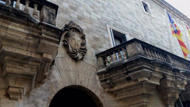 Fachada de la sede de la Audiencia Provincial de Baleares