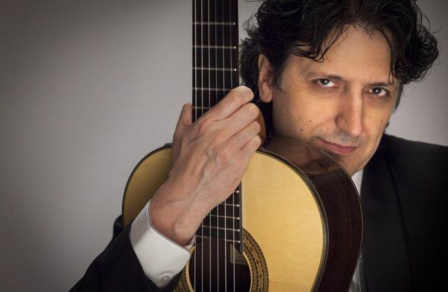 El guitarrista Cañozares 10-4-2018