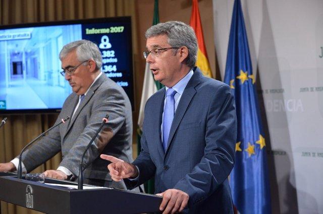 Antonio Ramírez de Arellano y Juan Carlos Blanco, este martes