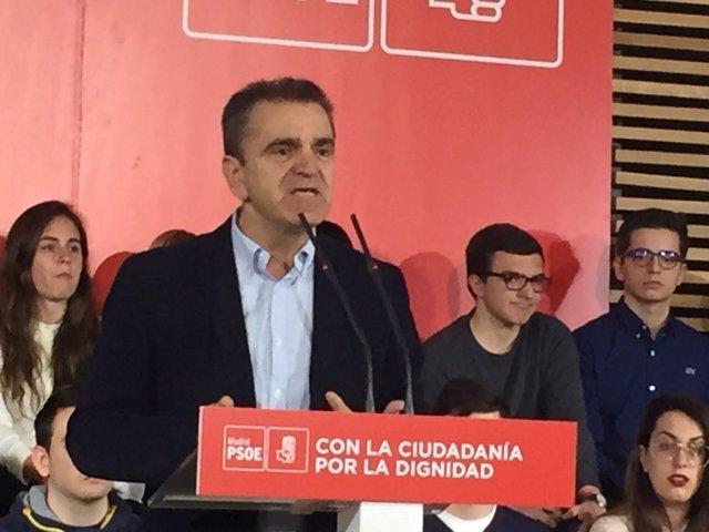 José Manuel Franco, secretario general del PSOE-Madrid