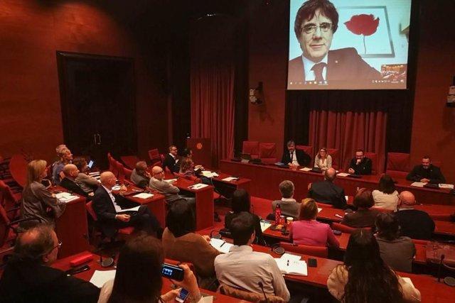Reunión de JxCat en el Parlament