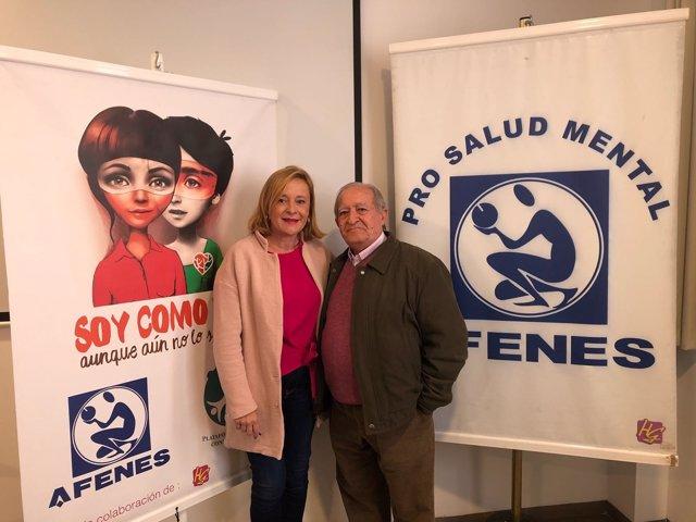 Mariví Romero en rueda de prensa