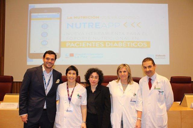 Presentación aplicación 'Nutreapp diabetes'