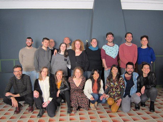 Miembros de los proyectos que recibirán apoyo de FiraTàrrega