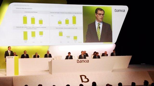 Intervención del CEO de Bankia, José Sevilla