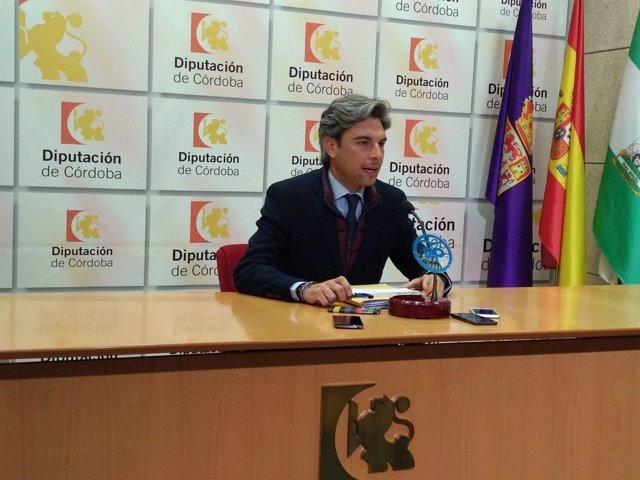 Andrés Lorite en la Diputación de Córdoba