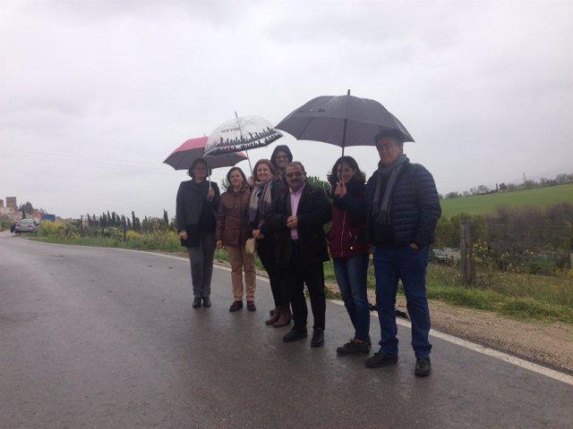 Visita a la carretera entre Peal de Becerro y Toya