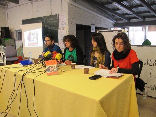 Domingo (Desc), Delgado (PAH), Novoa (Agencia Salud Pública) y Campuzano (APE)