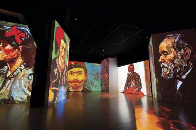Van Gogh Alive – The Experience en el Pabellón de la Navegación
