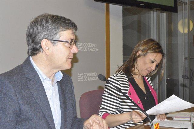 Vicente Guillén y Mayte Pérez
