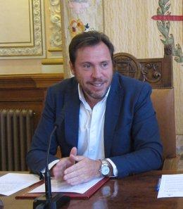El alcalde de Valladolid, Óscar Puente