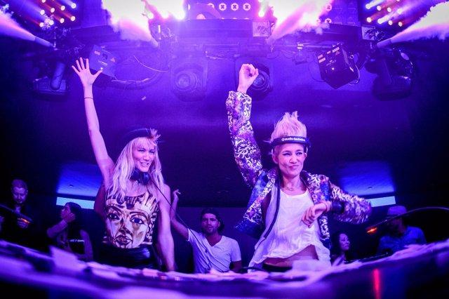 Nervo At Hakkasan Nightclub In Las Vegas