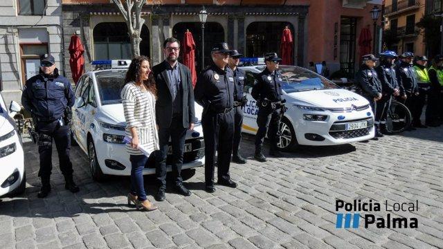 Noguera y Pastor presentan el refuerzo de verano de la Policía Local
