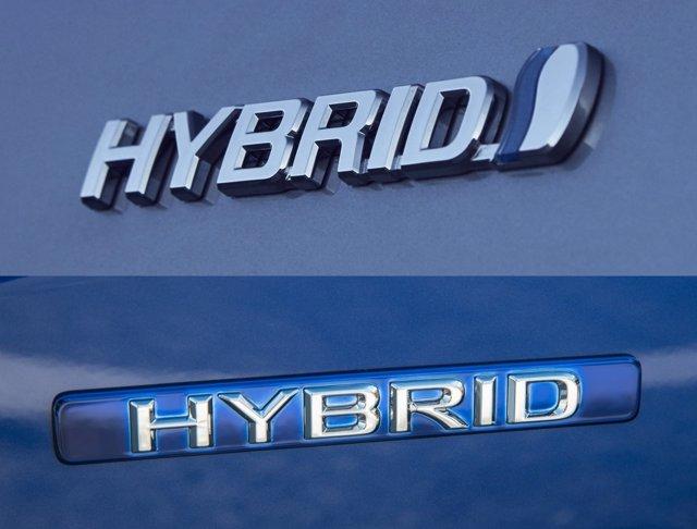 Logo Hybrid Toyota
