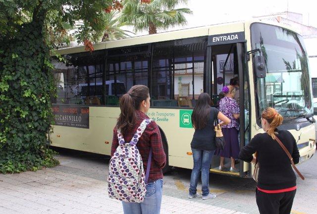 Autobús del Consorcio de Transportes.