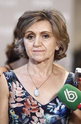 María Luisa Carcedo, en Ferraz