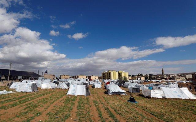 Desplazados de Ghuta Oriental