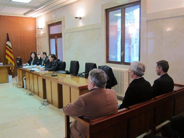 Imagen del juicio del caso Andratx en el que fue condenado el letrado