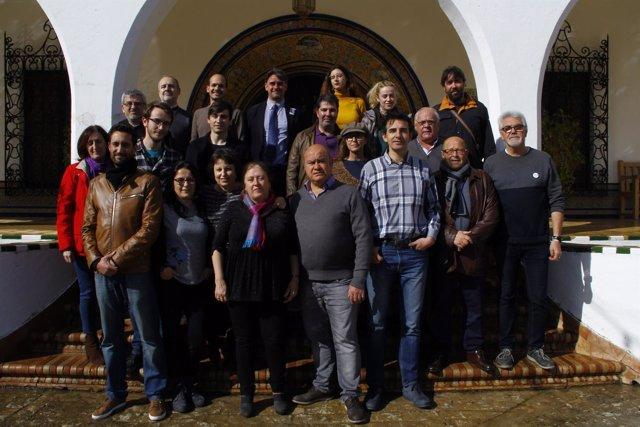 Moreno Yagüe optará a la Secretaría General de Podemos Sevilla