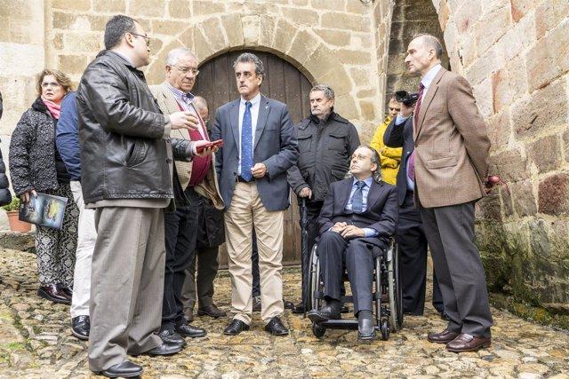 Francisco Martín en la presentación de Santillana turismo inteligente